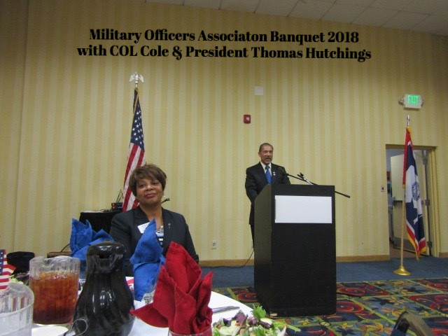 2018 Military Officers Association with COL Coles